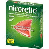 Nicorette Invisipatch 15mg-16h náplast 7x15mg