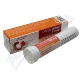 Calcium 500mg Galmed eff.  tbl. 20x500mg