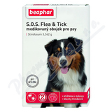 SOS Flea and Tick 3. 562g obojek pro psy 65cm