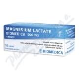 Magnesium lactate Biom. 500mg por. tbl. nob. 50x500mg