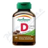 JAMIESON Vitamín D3 1000IU čokoláda cucací tbl.100