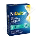 Niquitin Clear 21mg tdr. emp.  7ks