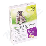 Drontal Dog Flavour 150-144-50mg pro psy tbl. 2