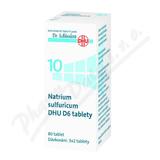 Natrium sulfuricum DHU D5-D30 tbl.nob.80