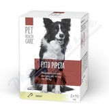 PET HEALTH CARE Fytopipeta pes 10-20 kg 3x 10 ml