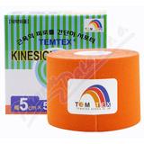 Tejp.  TEMTEX kinesio tape oranžová 5cmx5m