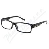 Brýle čtecí +2. 00 FLEX černé s kov. doplňkem