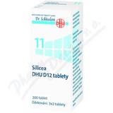 Silicea DHU D5-D30 tbl. nob. 200