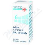 Kalium sulfuricum DHU D5-D30 tbl. nob. 200