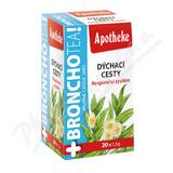 Apotheke BronchoTea Dýchací cesty čaj 20x1. 5g