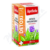 Apotheke DETOXiTEA Očista organismu čaj 20x1. 5g