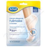 SCHOLL Expert Care maska-ponožky s makad. ol.  1pár
