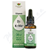 Vitamín D3+K2 Mk7 30ml EKOMEDICA