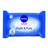 NIVEA Baby čist. ubrousky Pure 63ks č. 86247