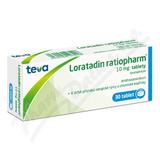 Loratadin-Ratiopharm 10mg por. tbl. nob. 30x10mg