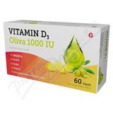 Vitamin D3 Oliva 1000IU cps.60