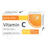 ALFA VITA Vitamin C 100mg tbl. 30