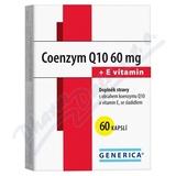 Coenzym Q10 60 mg + E vitamin Generica cps.60