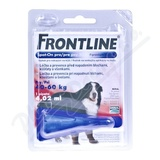 Frontline Spot On Dog XL 1x1 pipeta 4.02ml
