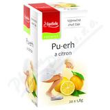 Apotheke Pu-erh a citron čaj 20x1. 8g