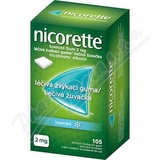 Nicorette Icemint Gum 2 mg léèivá žvýkací guma 105