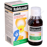 Robitussin Junior suchý drážd.k.por.sir.100ml-75ml