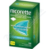 Nicorette Icemint Gum 4 mg léèivá žvýkací guma 105