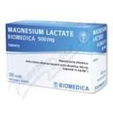Magnesium lactate Biomedic.500mg tbl.nob.100x500mg
