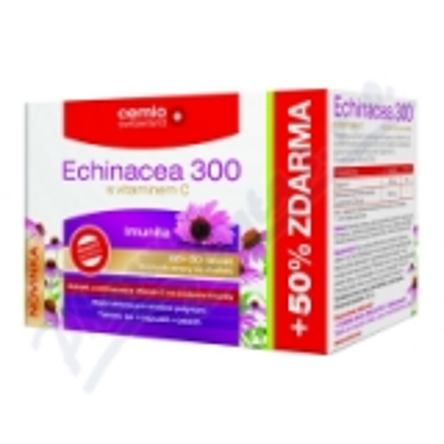 Cemio Echinacea 300 s vitaminem C tbl.60+30