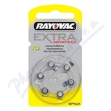 Baterie do naslouch.Rayovac Extra Advan.10-PR7 6ks