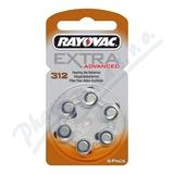 Baterie do naslouch.Rayovac Extra Adv.312-PR41 6ks