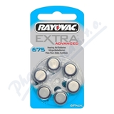 Rayovac Extra Adv.675 baterie do naslouchadel 6ks