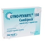 Gyno-Pevaryl Combipack150mg+10mg crm+vag.glb.3+15g