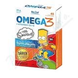 The Simpsons Omega 3+vitaminy D a E cps.45 + dárek