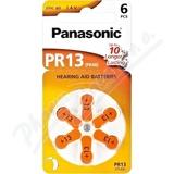 Panasonic PR13(PR48) baterie do naslouchadel 6ks