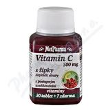 MedPharma Vitamín C 500mg s šípky tbl.37 prod.úč.