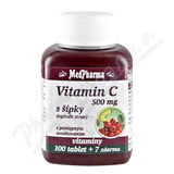 MedPharma Vitamín C 500mg s šípky tbl.107 prod.úè.