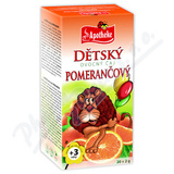 Apotheke Dětský ovocný čaj pomerančový 20x2g