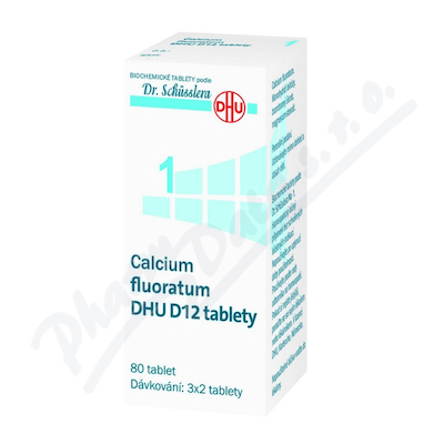 Calcium fluoratum DHU D5-D30 tbl.nob.80