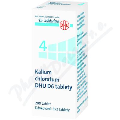 Kalium chloratum DHU D5-D30 tbl.nob.200