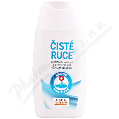 Čisté ruce čisticí dezinfekční gel 50ml Dr.Müller