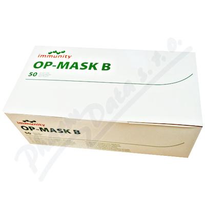 OP-MASK B ústenka s gumičkami 50ks